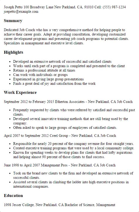 Professional Athletic Trainer Resume by Professional Sports Coach Resume