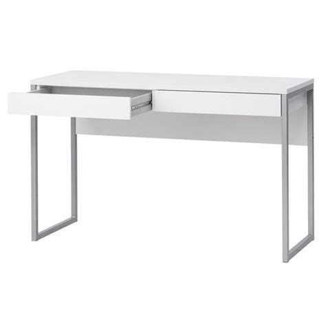 Staples Corner Desk Uk by Caspian White Gloss Desk Staples Interior Room