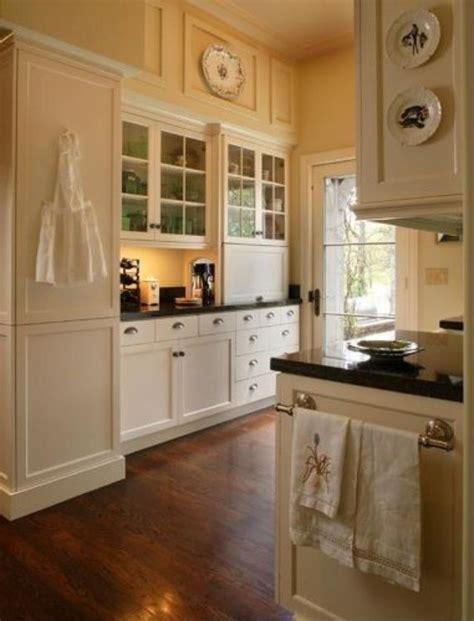 Andie Macdowell's Storybook Tudor  Appliance Garage