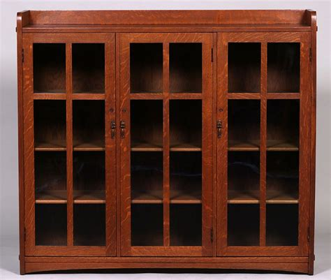 limbert  door bookcase california historical design