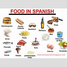 64 Best Las Comidas Images On Pinterest  Spanish Class, Spanish Classroom And Spanish Vocabulary