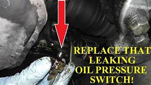 Oil Pressure Switch Replacement With Basic Hand Tools