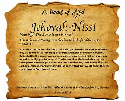 Jehovah Nissi Names God Encounter Christian Today