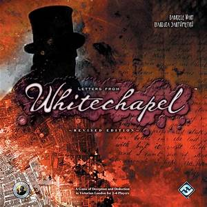 letters from whitechapel geekstop games With board game letters from whitechapel