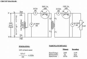 Load Test On A Single Phase Transformer