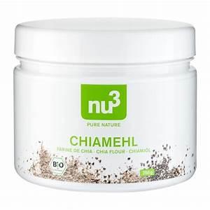 Chia Samen Ei Ersatz : nu3 bio chia mehl aus gemahlenen chia samen kaufen ~ Frokenaadalensverden.com Haus und Dekorationen