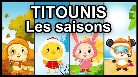 les compagnons de saison dessin anim 233 titounis les saisons