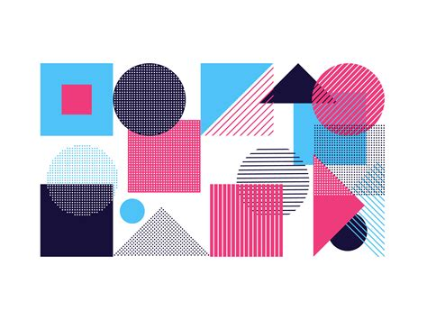 Abstract Minimal Shapes abstract geometric shapes simple minimal background