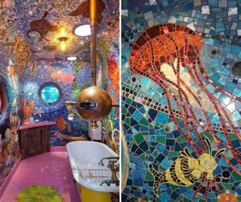 Badezimmer Fliesen Bunt by Mosaik Basteln Prachtvolle Kunstwerke Schaffen