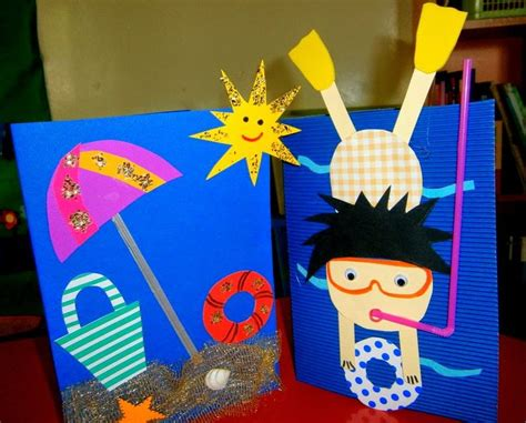 summer craft crafts and worksheets for preschool toddler 414 | summer craft idea for kids 6