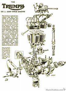 Triumph 1961 650 Twin Engine Diagram