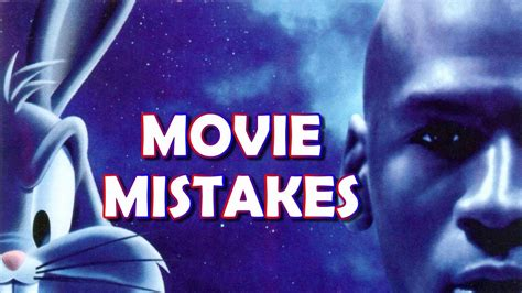space jam  mistakes facts scenes bloopers