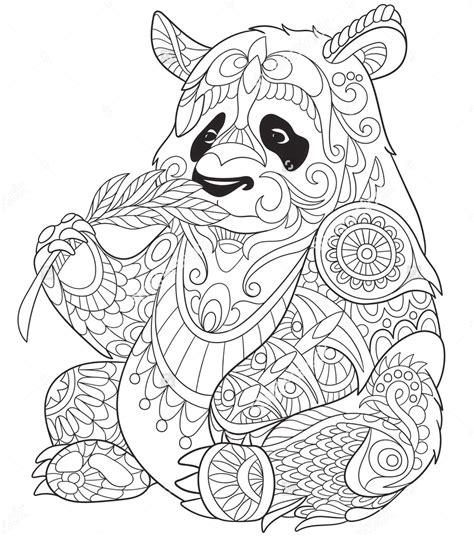 zentangle animals coloring pages