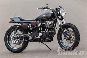 Racing Caf U00e8  Harley Xr 1000 Street Tracker By Mule Motorcycles