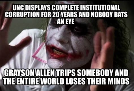 Grayson Allen Memes - grayson allen appreciation thread