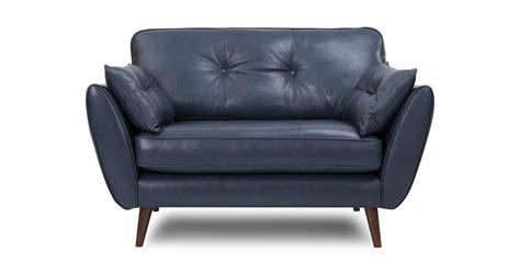 2 seater cuddler sofa zinc leather cuddler sofa dfs