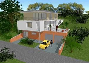 Haus Bauen Simulator : hausboot am hang schwarz architekten ~ Lizthompson.info Haus und Dekorationen