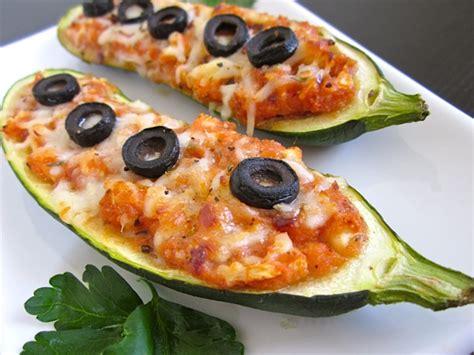 Zucchini Boats Pizza by Zucchini Pizza Boats Budget Bytes