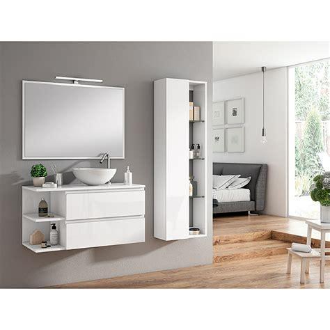 mueble de lavabo dante      cm blanco