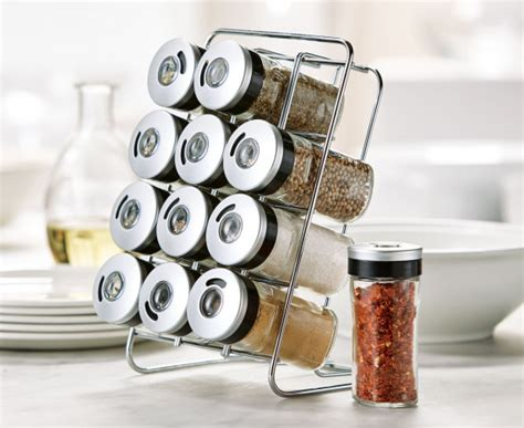 Pre Filled Spice Rack by New Arrivals Stokes Stores