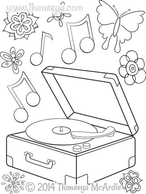 hipster coloring book  thaneeya mcardle thaneeyacom