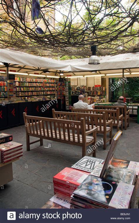 librerie in italia courtyard in the librerie feltrinelli bookstore in corso
