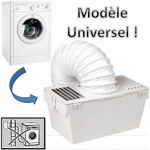 Seche Linge Sans Evacuation : kit condenseur s che linge universel avec tuyau d ~ Premium-room.com Idées de Décoration