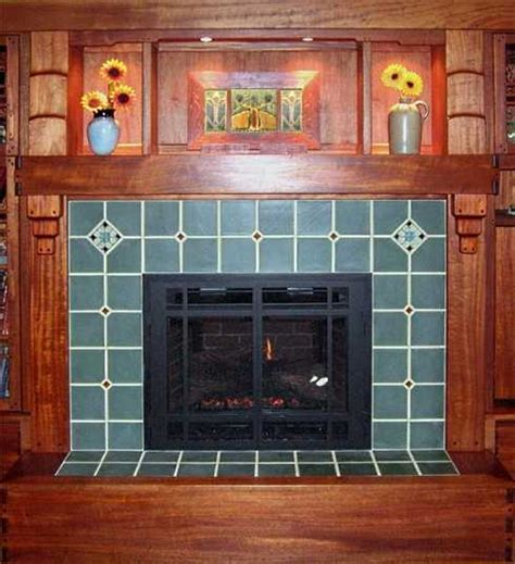 standout tile fireplace surroundamazing arts