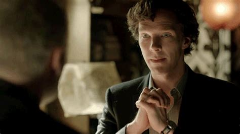 Sherlock I Janine Happy Benedict Cumberbatch Gif Find Share On Giphy