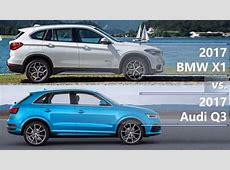 2017 BMW X1 vs 2017 Audi Q3 technical comparison YouTube