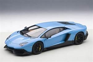 Karson Auto : lamborghini aventador lp720 4 50th anniversary edition blue blu cepheus diecast model car in 1 ~ Gottalentnigeria.com Avis de Voitures