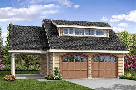 Port Side Garage by Traditional House Plans Garage W Carport 20 107