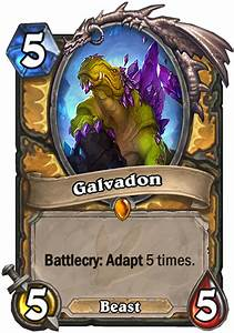 Galvadon Hearthstone Card