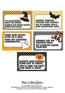 Halloween Treasure Hunt Riddles Adults by How To Do A Halloween Treasure Hunt Halloween Kid