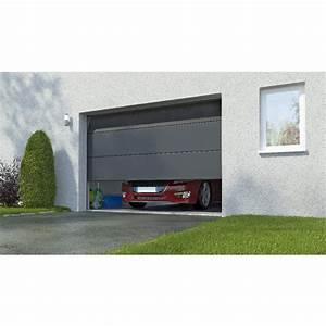 Porte De Garage Motorisée Somfy : porte de garage columbia sectionnelle en kit motoris e ~ Edinachiropracticcenter.com Idées de Décoration