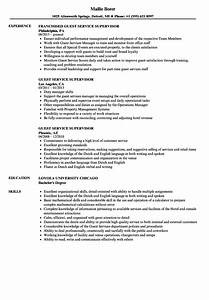 guest service supervisor resume samples velvet jobs With guest services resume