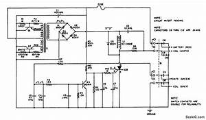 capacitor discharge ignition circuit diagram capacitor With capacitive discharge ignition cdi circuit and wiring diagram
