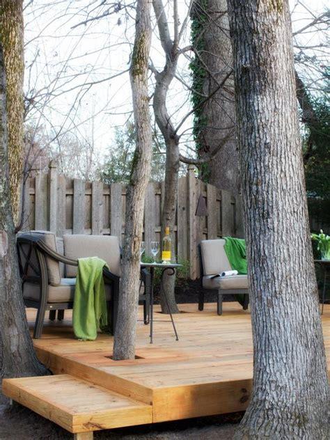 build  tree encompassing deck hgtv