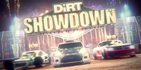dirt showdown announced  ps xbox  pc