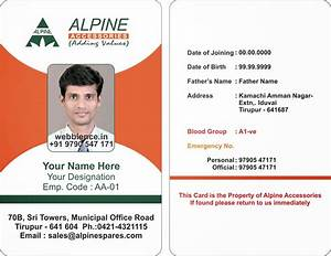 image gallery identity card format With staff id badge template
