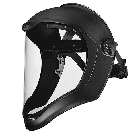 uvex bionic face shield  anti fog coating ergaleia