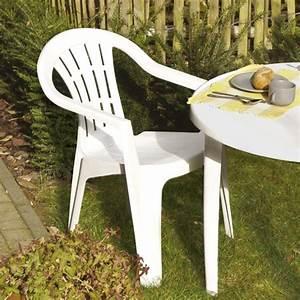 Chaise Jardin Plastique : chaise de jardin plastique allibert ~ Teatrodelosmanantiales.com Idées de Décoration
