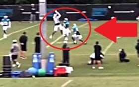 video nfl player instantly fired   brutal hit