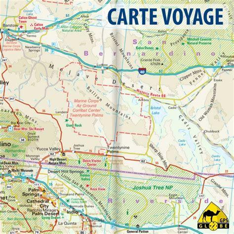 Carte De Touristique Ouest by Gps Globe Carte Touristique Du Sud Ouest Des Etats Unis