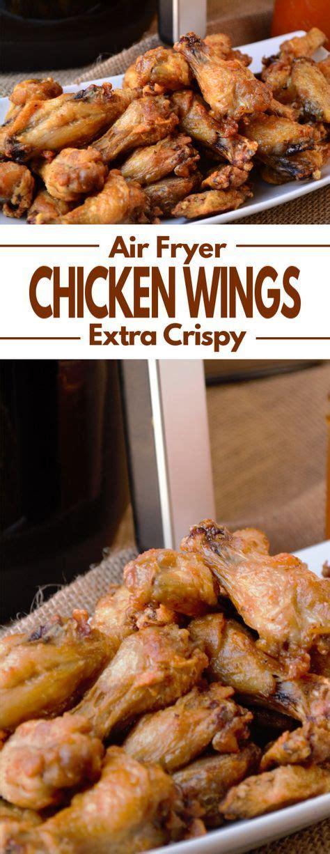 chicken air crispy fryer wings extra recipes recipe wing finger
