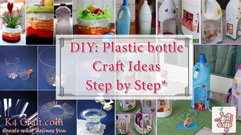 diy step  step plastic bottle crafts ideas  craft
