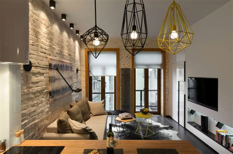 Small Spaces A 40 Square Meter 430 Square Apartment Visualization by Contemporary 40 Square Meter 430 Square Apartment