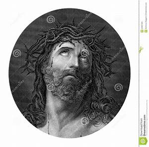 Crucifixion Of Jesus Christ Wearing The Crown Of Thorns ...