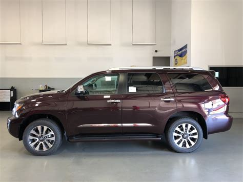 New 2019 Toyota Sequoia Limited 4d Sport Utility In
