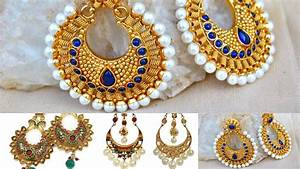 Latest gold earrings designs for daily use | old hoop ...